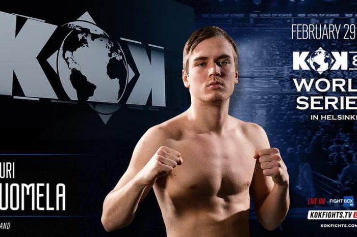 Featherweight Contender Suomela Back at KOK 83 Helsinki