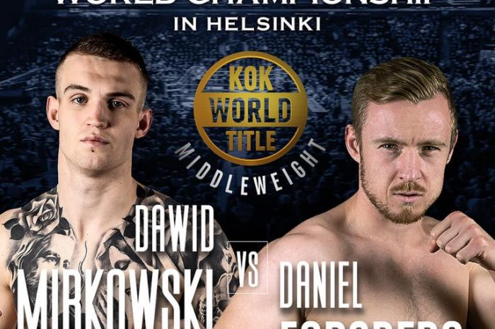"Dawid Mirkowski: ""I Will Do Everything I Need to Win the Fight"""