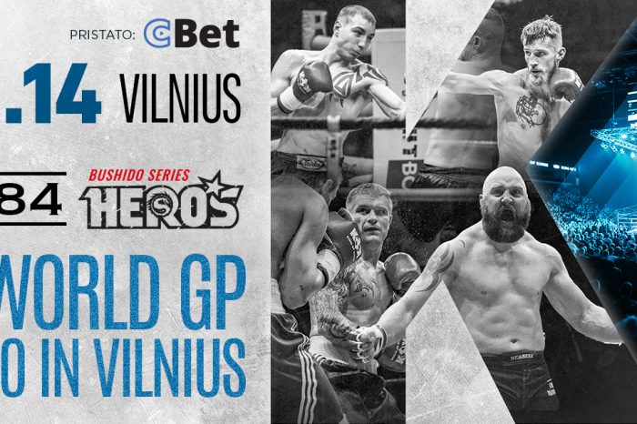 "KOK'84 WORLD GP, DUE TO CORONAVIRUS, EVENT IS MOVED TO THE 14TH OF NOVEMBER VILNIUS ""SIEMENS ARENA"""