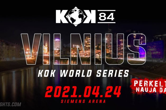 KOK'84 tournament is postponed to April 24th  2021, Because of global COVID-19 pandemic.