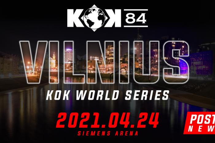 KOK 84 Postponed from November Until April