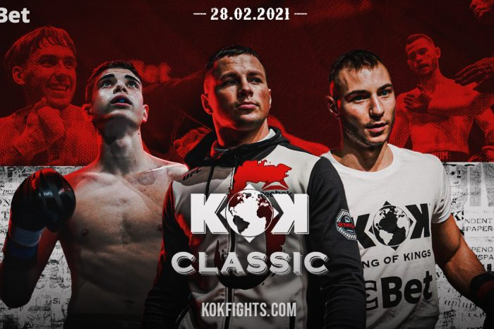 KOK Classic 5 Fight Card and Viewing Information