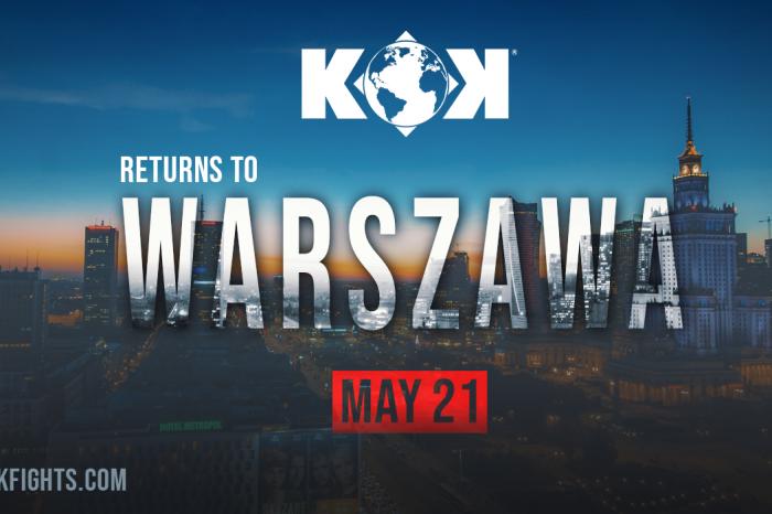 KOK World GP returns to Warszaw!