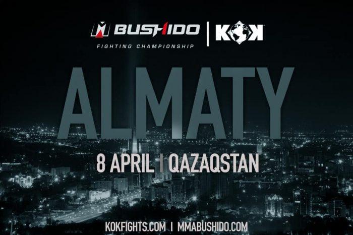 MMA BUSHIDO 16 GP & KOK COMING BACK TO KAZAKHSTAN
