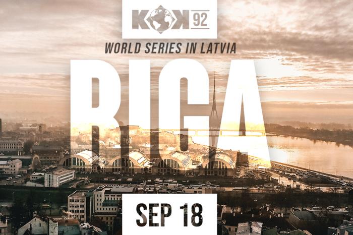 KOK World Series '92 – LIVE from Riga, Latvia 18.09.2021