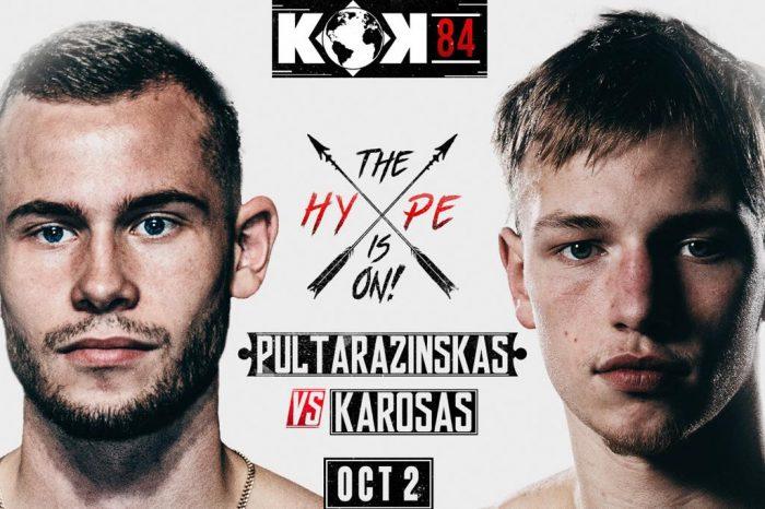 KOK 84: Karosas Steps Up Against Pultarazinskas